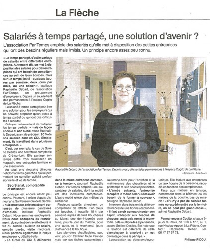 Interview sur les fondements du Groupement d'Employeurs Par'Temps